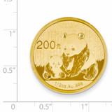 24k Gold 1/2oz Panda Coin 1/2P
