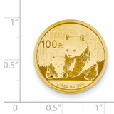24k Gold 1/4oz Panda Coin 1/4P
