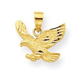 Eagle Charm 10k Gold 10C1009