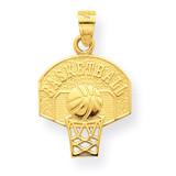 Basketball Charm 10k Gold 10C1031