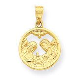 Nativity Charm 10k Gold 10C1035