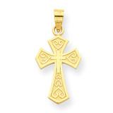 Cross Charm 10k Gold 10C1311