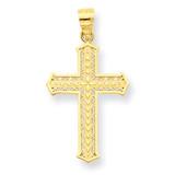 Cross Pendant 10k Gold 10C1316