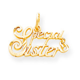 SPECIAL SISTER CHARM 10k Gold 10C493