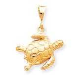 TURTLE CHARM 10k Gold 10C538