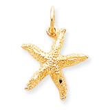 STARFISH CHARM 10k Gold 10C554