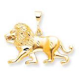 LION CHARM 10k Gold 10C580