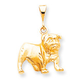 DOG CHARM 10k Gold 10C595