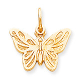 BUTTERFLY CHARM 10k Gold 10C640