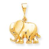 ELEPHANT CHARM 10k Gold 10C653