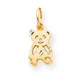TEDDY BEAR CHARM 10k Gold 10C659