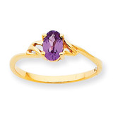Polished Geniune Rhodolite Garnet Birthstone Ring 10k Gold 10XBR135