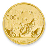 24k Gold 1oz Panda Coin 1P