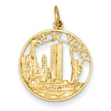 New York Charm 14k Gold A0601/C