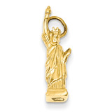 Statue Of Liberty Charm 14k Gold A0685
