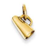 Megaphone Charm 14k Gold A1241/L