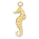 Seahorse Pendant 14k Gold A9261