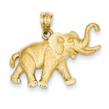 Elephant Pendant 14k Gold C110