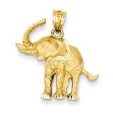 Elephant Pendant 14k Gold C112