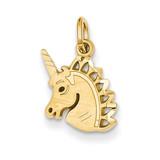 Unicorn Charm 14k Gold C1142