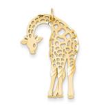 Giraffe Charm 14k Gold C1163
