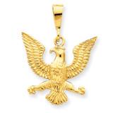 Eagle Charm 14k Gold C1209