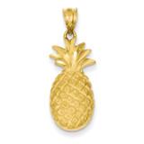 Pineapple Charm 14k Gold C138