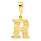 Initial R Charm 14k Gold C1449-R
