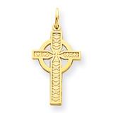 Celtic Cross Pendant 14k Gold C1460