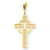Celtic Cross Pendant 14k Gold C1462