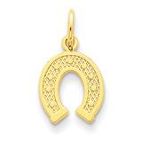 Horseshoe Charm 14k Gold C1738
