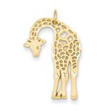 Giraffe Charm 14k Gold C1907