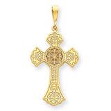 Celtic Cross Pendant 14k Gold C1936
