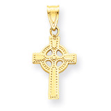 Celtic Cross Pendant 14k Gold C1939