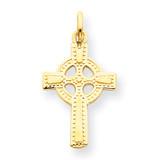 Celtic Cross Pendant 14k Gold C1940