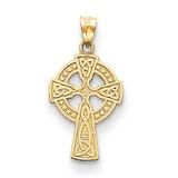 Celtic Cross Pendant 14k Gold C1942