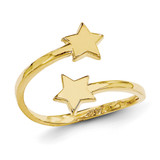 Star Toe Ring 14k Gold C2080
