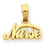 Nurse Pendant 14k Gold C2963