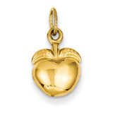 Apple Charm 14k Gold C3203