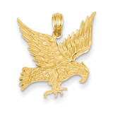 Eagle Pendant 14k Gold C3491