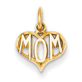 Mom Charm 14k Gold C368