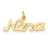 Nana Charm 14k Gold C394