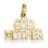 Godmother Charm 14k Gold C398