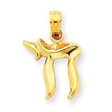 Chai Pendant 14k Gold C3990