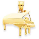 Piano Charm 14k Gold C408