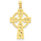 Celtic Cross Pendant 14k Gold C4101