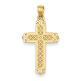 Cross Pendant 14k Gold C4281