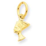 Nefertiti Charm 14k Gold C443