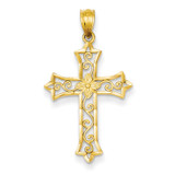 Cross Pendant 14k Gold C4510