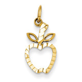 Apple Charm 14k Gold C459